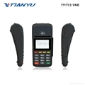 Cheap Handheld Mobile POS with Printer Bluetooth Payment Machine 3