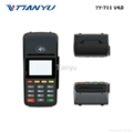 Cheap Handheld Mobile POS with Printer Bluetooth Payment Machine 4