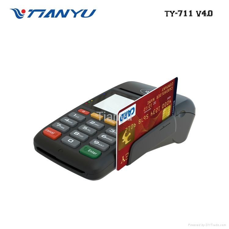 Cheap Handheld Mobile POS with Printer Bluetooth Payment Machine 5