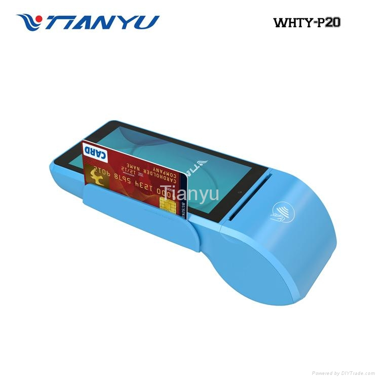 Smart Handheld Android Touch POS, Printer POS Machine, Mobile Payment Terminal 3