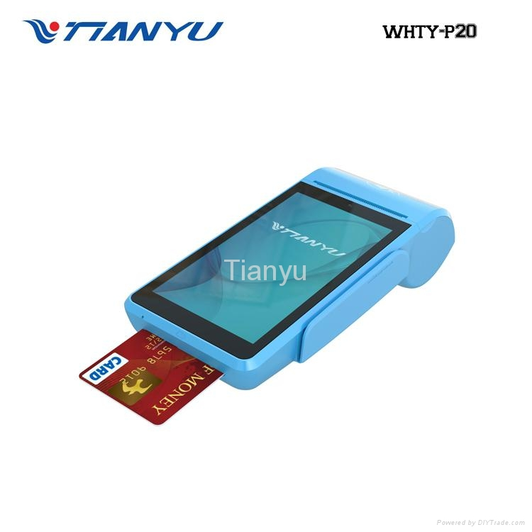 Smart Handheld Android Touch POS, Printer POS Machine, Mobile Payment Terminal 4