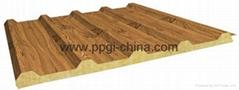 wood pattern ppgi