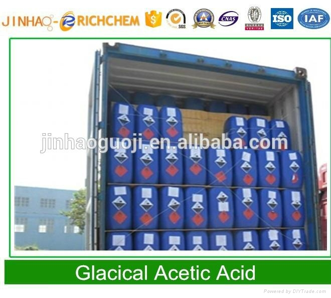 China best Acetic acid glacial 99.9% 2