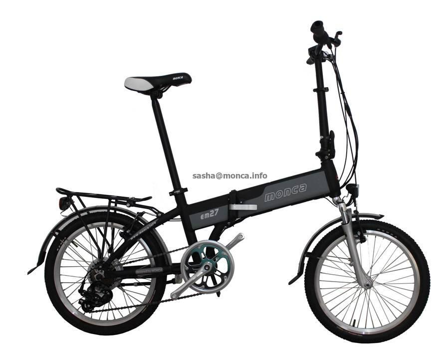 electric folding bike 1