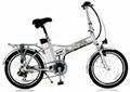 electric folding bike 2