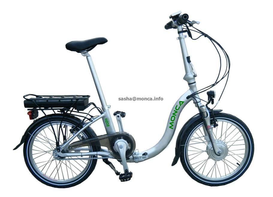 electric folding bike 4