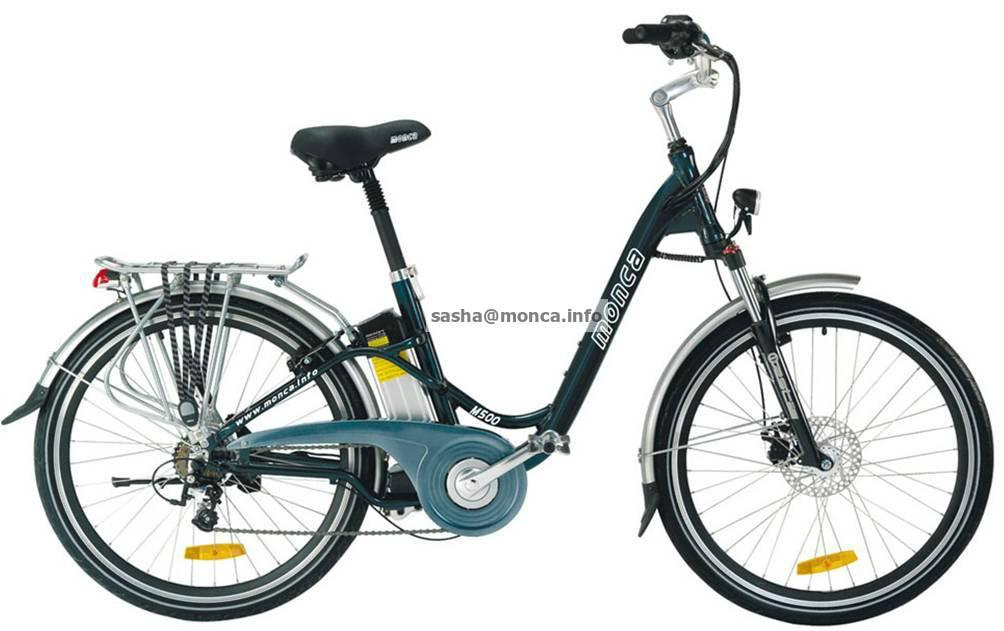 Fast Mountain Electric Bike with 48V battery 500W motor 3