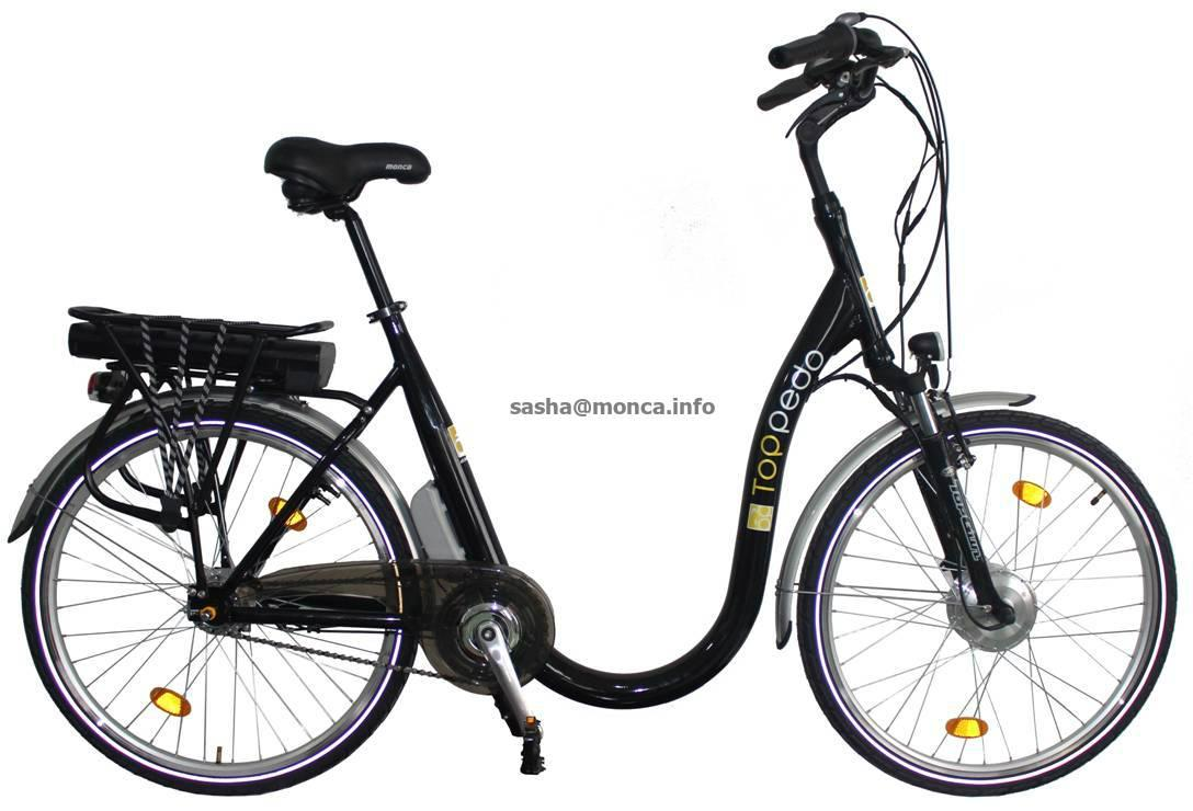 Fast Mountain Electric Bike with 48V battery 500W motor 4