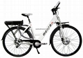 Fast Mountain Electric Bike with 48V battery 500W motor 5