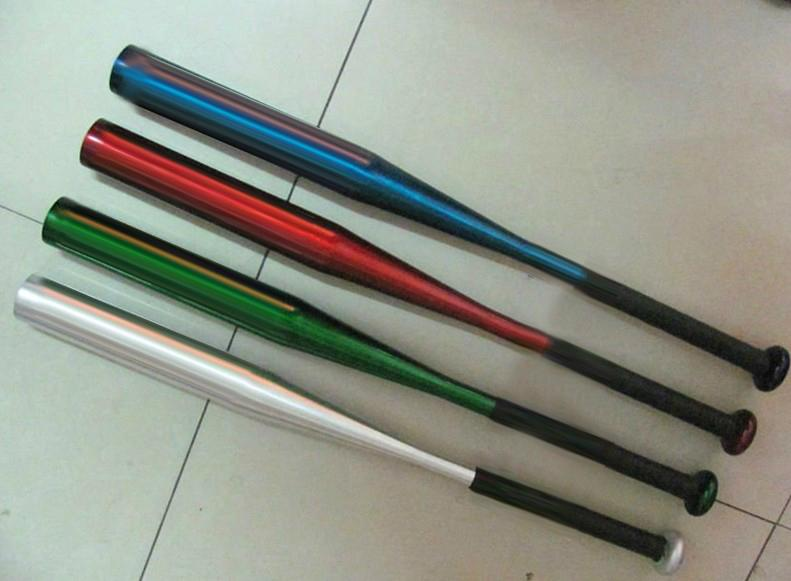 aluminum alloy or wood baseball bats for training or decoration 4