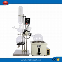 Lab Rotary Evaporator with Thermal Oil Bath and Vacuum System