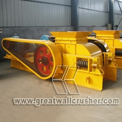 PF1210 impact crusher and jaw crusher for crushing plant