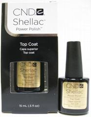 CND Shellac Base .42oz 12.5ml Top .5oz 15ml Coat UV LED Nail Polish Lacquer Gel