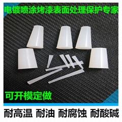 惠州耐高温胶塞螺牙孔密封保护橡胶塞子