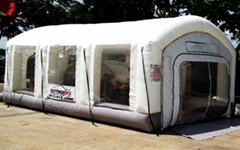 Inflatable Spray Booth /
