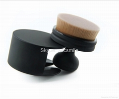 Circle Oval Brush Style Foundation Makeup Air Brush Loose powder Synthetic