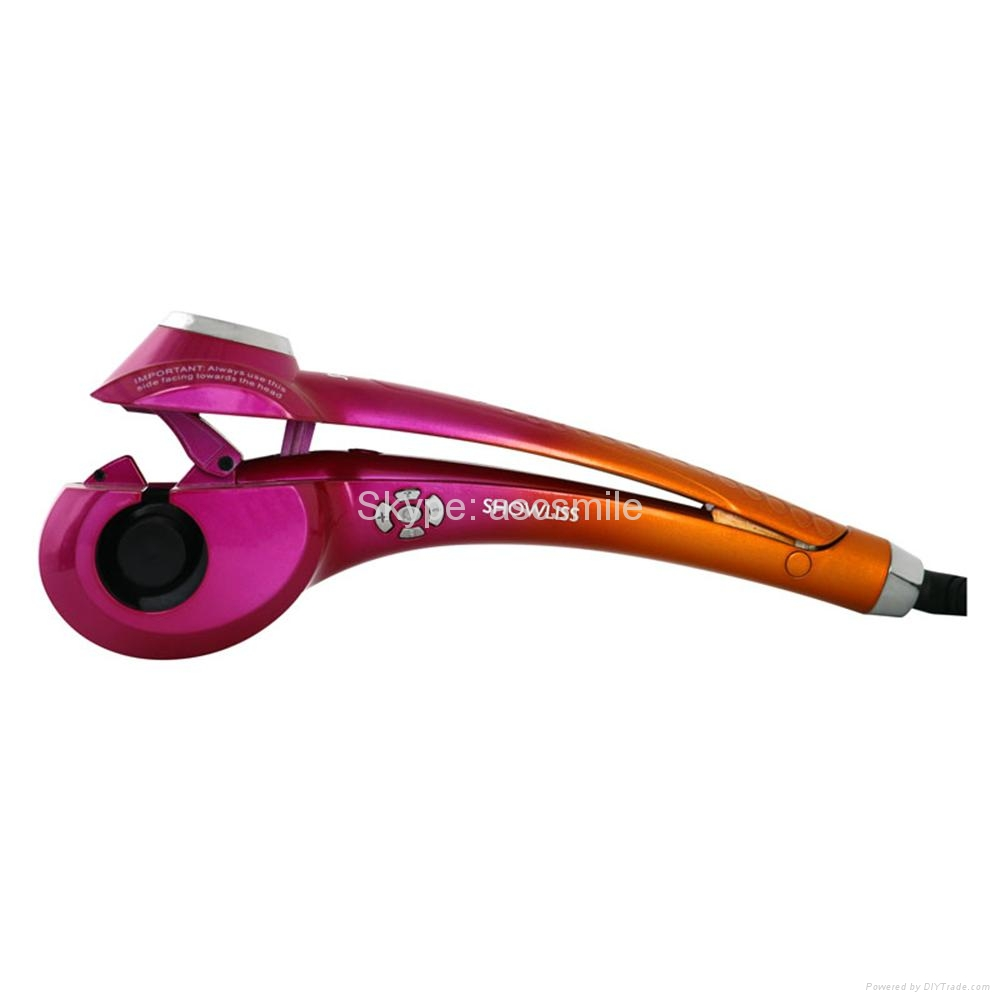 Import Brushless Motor Automatic Hair Curler With LED Display 3