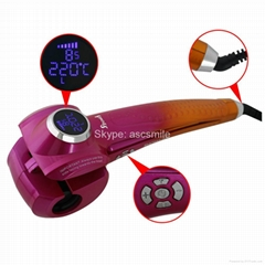 Import Brushless Motor Automatic Hair Curler With LED Display