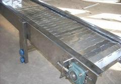 鄭州平面輸送鏈板輸送機