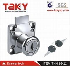 TK-138-22 drawer lock door lock furniture
