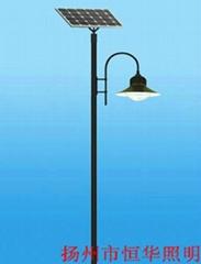 Manufacturers supply solar street lights