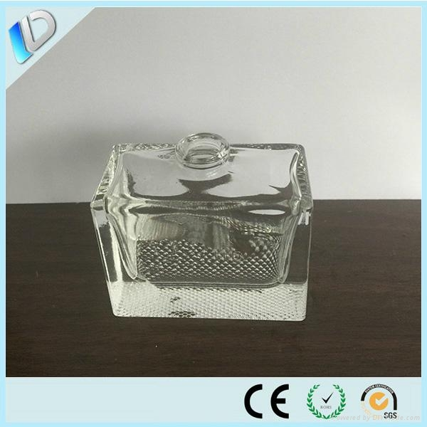 Clear rectangle 30ml perfume bottle for sale 1