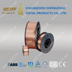 0.8mm 15kg/Spool Mild Steel Copper Coated MIG Welding Wire (Aws Er70s-6)
