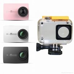 60M waterproof case for XiaoYi 4K Action Camera