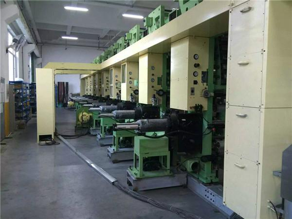 Used Japnese High Quality Computer Midding Rail Gravure Printing Machine 3