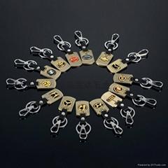 供應4s店 車標鑰匙扣挂件