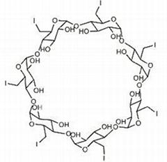 現貨供應 七(6-碘-6-去氧)-倍他-環糊精 30754-23-5