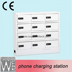Multiple Phone Charge Station Universal Wall Mounted Phone Charging Locker