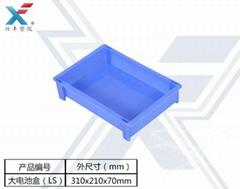 兴丰供应汽车配件厂进口原材料订做出口塑料大电池盒(LS)