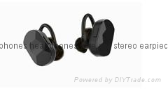 High Quality Stereo Sports Bluetooth Tws Earphones True Wireless BT Headphone