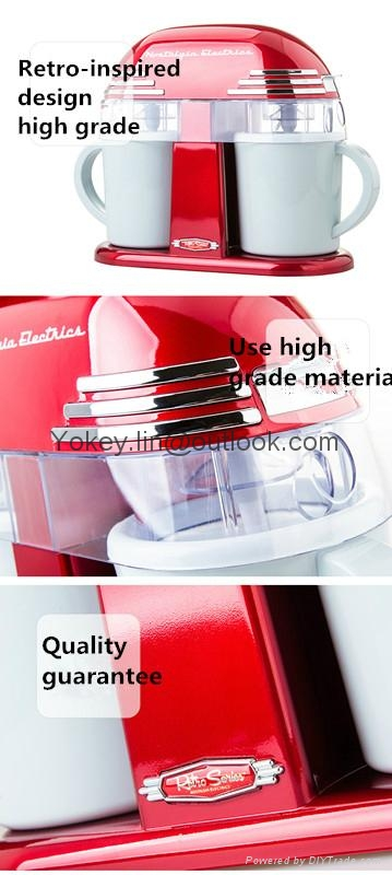 Nostalgia Electrics DIC200 Mini Ice Cream machine for home use 2