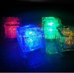 Event & Party Flashing Lighting Ice Cube with Logo Printed (3188)