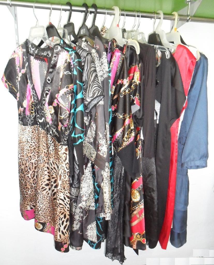 Satin top & dress