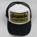 3D and patch embroidery baseball hat mesh cap