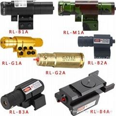 9mm Compact Pistol Shotgun Handguns Airsoft Green Laser Bore Scope Sights
