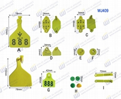 WJ409 Other livestock Ear Tag