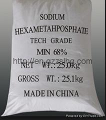 Best manufacturer supply hexametaphosphate (TECH GRADE)