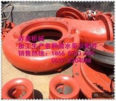 专业生产矿用潜水泵配件蜗壳