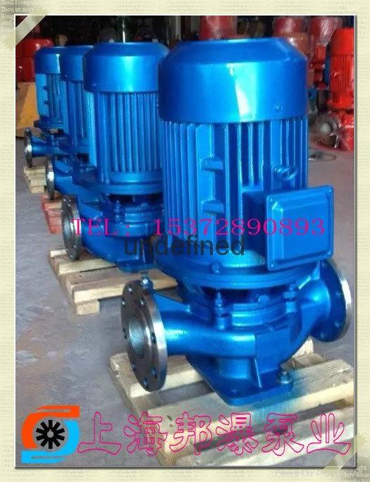 IHG不锈钢立式管道泵 2