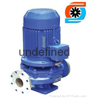IHG不锈钢立式管道泵 1