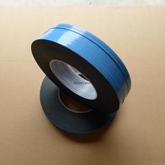 PE double side foam tape blue color