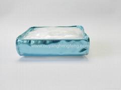 clear pvc double zip big capacity  cosmetic bag