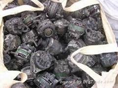 Used alternator and starter