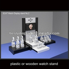 High-end Acrylic Watch Display Case For Shop Counter
