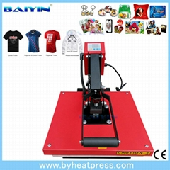 2016 New Arrivals High Pressure European Style Clamshell Heat Press Machine