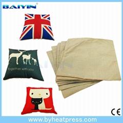 2016 new style sublimation home decor heat press soft pillow case